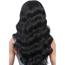 DLME Water Wave 180 Density Peruvian Hair Lace Front Wigs Glueless With Baby Hairs Around No Tangle Synthetic