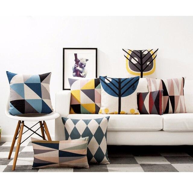 Estilo escandinavo almohada de cojín de asiento moderno minimalista ...
