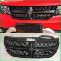 Für Dodge Journey JCUV 2009 2010 2011 2012 2013 2014 2015 2016 Frontgrill Stoßstange Heizkörper Oberen Kühlergrill Abdeckung Auto styling