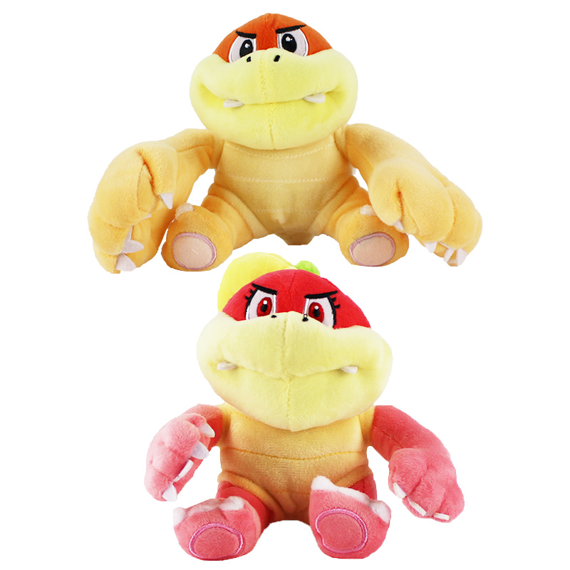 2 Styles Super Mario Plush Toy Boom Boom Pom Pom Koopa Bowser Soft Stuffed Dolls Children Gifts