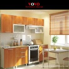 Меламин MFC кухонные шкафы современный дизайн из Китая
