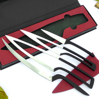 High Quality Multi Functional Kitchen Knife Stainless Steel Knife Sets Portable Outdoor Camping Knife Chef Knives