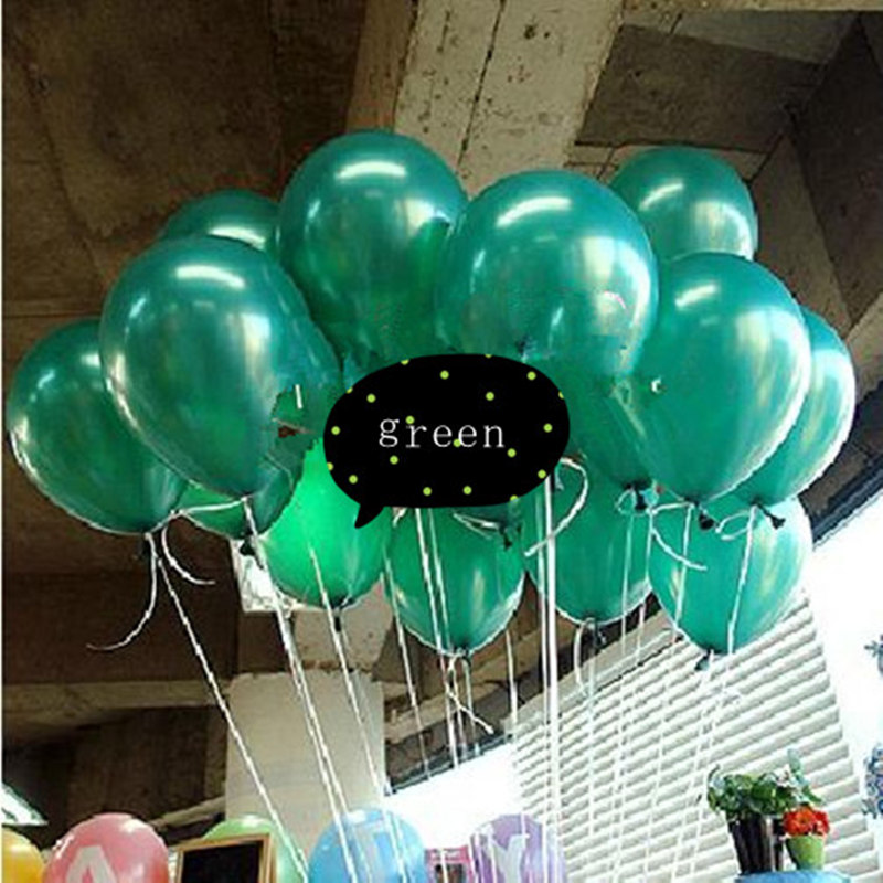 Wholesale LARGE PLAIN BALLOONS BALOON helium BALOON Quality Birthday Wedding 10/""