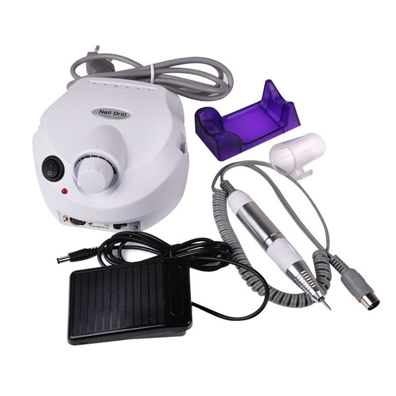 30000 RPM Professional Electric Nail Art Drill File Pedicure Equipment Manicure Machine Kit Nail Art Tool Easy To Use EU/US Plug makartt 12pcs 30000 rmp nail drill machine portable electric manicure pedicure tools kit set nail art equipment us plug e0855x