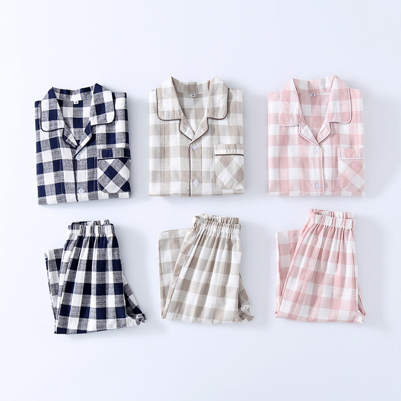 100% Cotton Children Pajamas Sets For Summer  Kids Night Wear For Age 3-10 Years 727