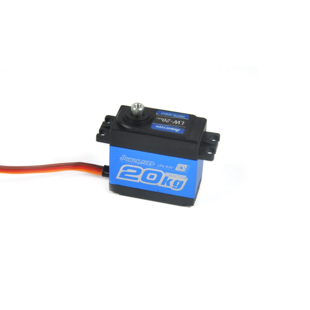Potencia HD LW-20MG impermeable Digital alto Torque Servo para 1/10 1/8 RC coches avión