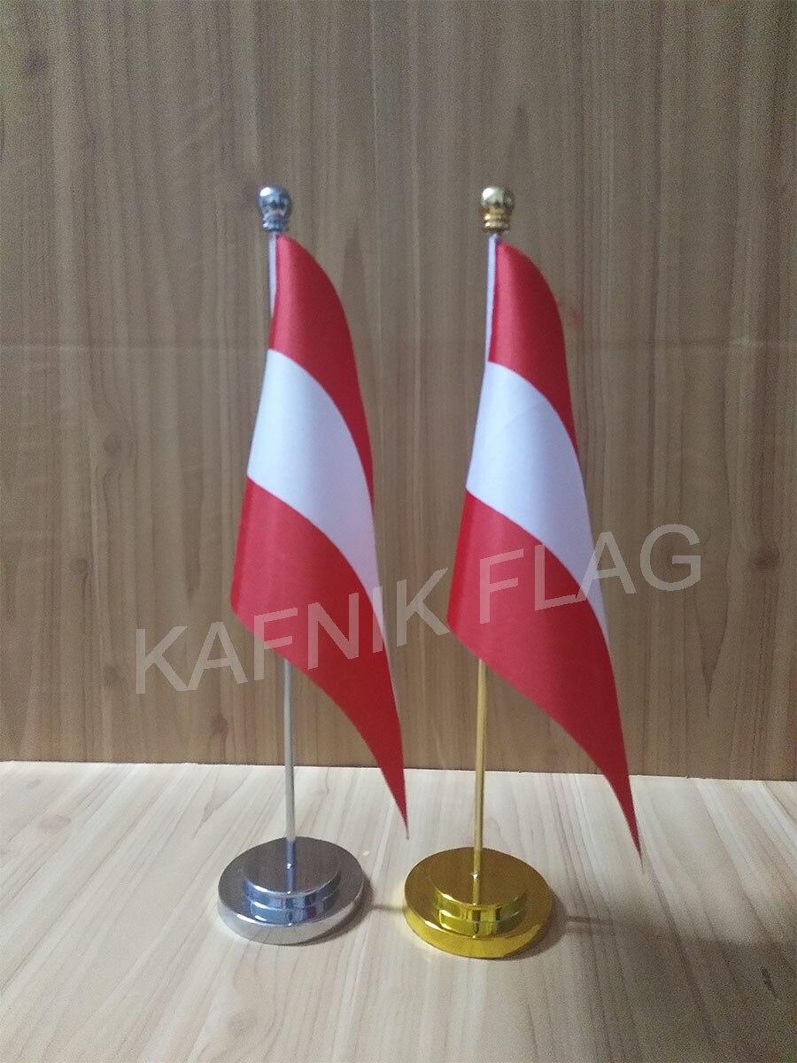 Austria pa/ís escritorio mesa bandera