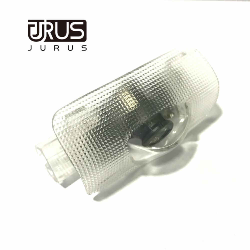 JURUS Hot sale a pair car door Welcome light 3D ghost shadow lamp auto door logo light For Toyota Prado logo free shipping