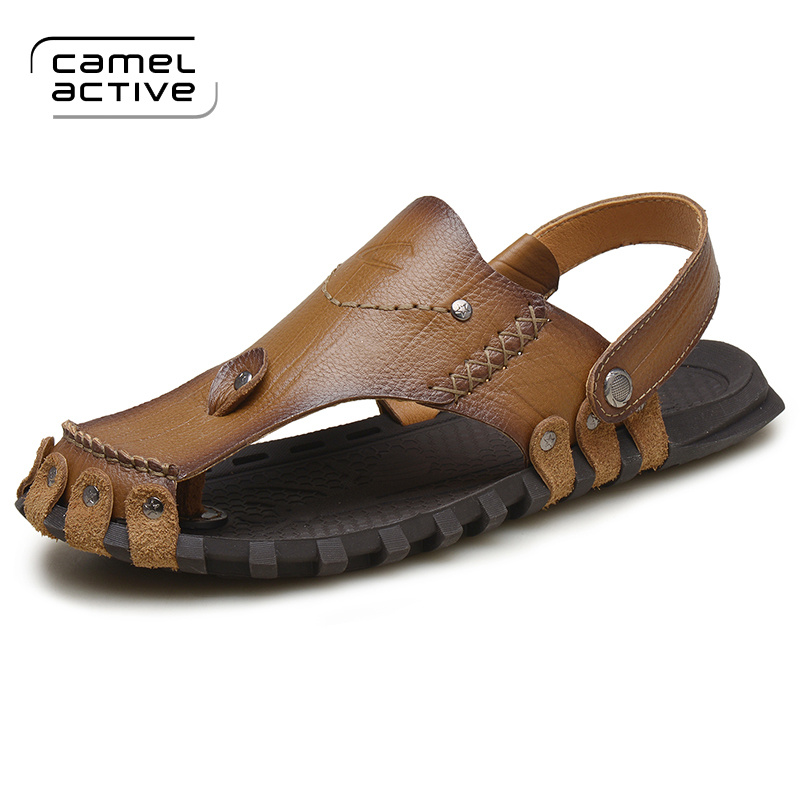 Camel Active New Summer Shoes Fashion Summer Sandals men Genuine Leather  Male Sandals Men Shoes Casual Shoes 3013-in Men's Sandals from Shoes on ...