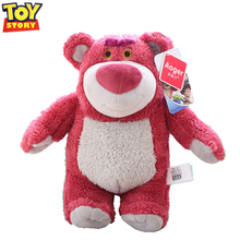 Disney Toy Story 3 4 toys Pixar Plush Strawberry bear Lotso Woody Buzz Lightyear Forky Alien toy story For Children Gift