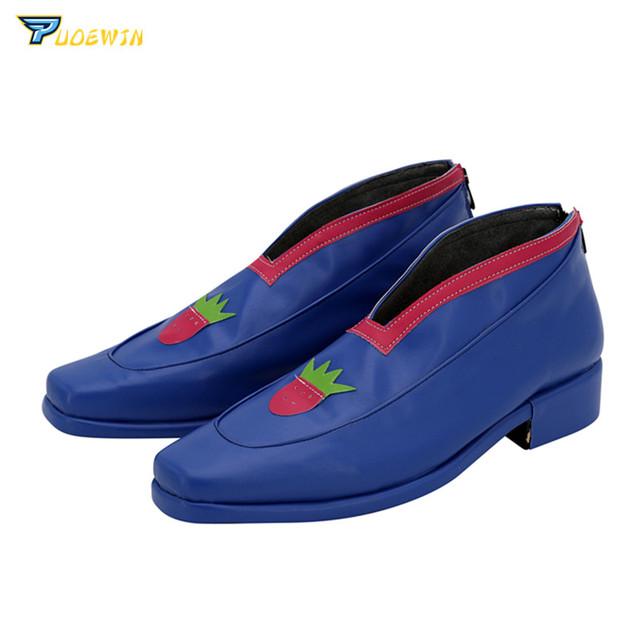 Wind Pannacotta Cosplay Shoes | Custom Made Blue Shoes