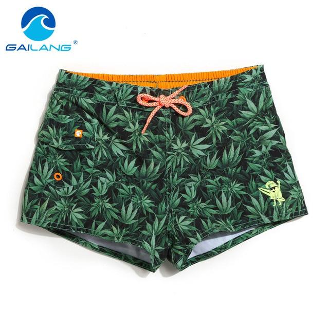 Gailang Marca Crianças Meninas Shorts Da Praia Swimwear Maiôs Swim Boxer  Shorts Troncos Bottoms Crianças de 104de1347f708