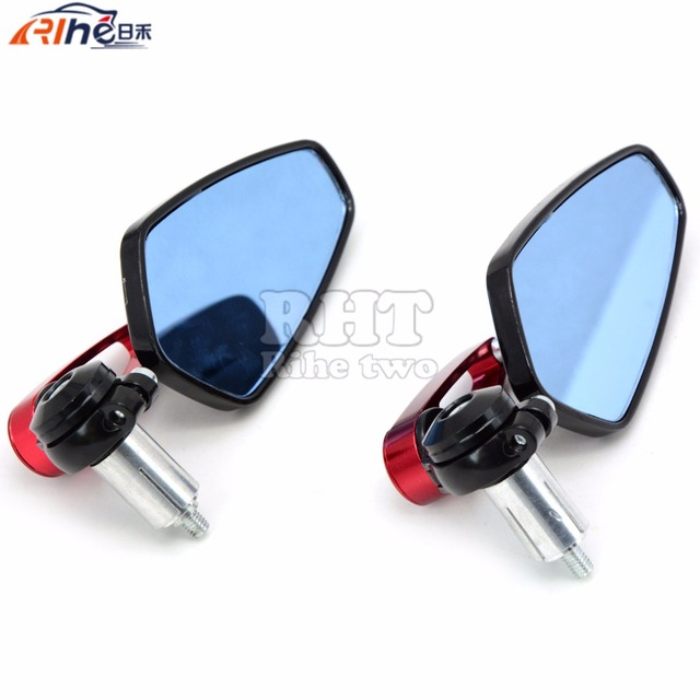 "Universal  7/8"""" 22mm  handle bar motorcycle bar end mirror Motorcycle Mirror for SUZUKI GSF 600 Bandit S-X 1995 - 1999 1998 97"