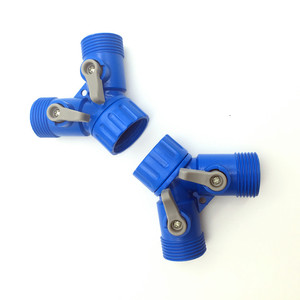 Image 3 - 1 Pcs Garden Drip Irrigation Water Connector For G 3/4  pipe  Garden Hose Coupling