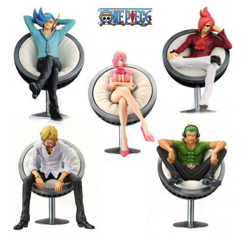 11CM Japanese classic anime figure <font><b>one</b></font> <font><b>piece</b></font> Vinsmoke <font><b>Reiju</b></font>/Yonji/Niji/Sanji sitting ver action figure collectible model toys image