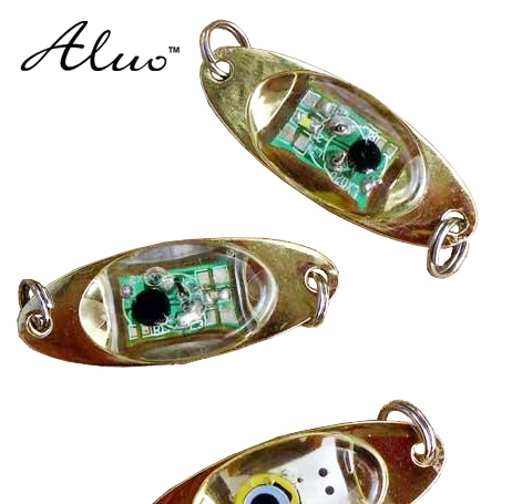 5 PCS 5 different colors options LED lure fish bait LED lights LED electronic appliances lure metal lure luminous Very bright
