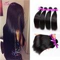Beleza cabelo virgem Peruano reta 8a Não Transformados barato Peruano Reta Extensões de Cabelo 100 cabelo humano peruano feixes de cabelo