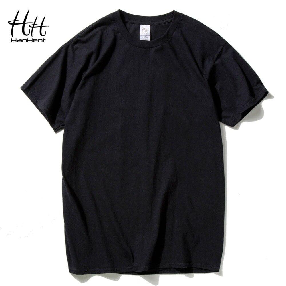 Buy Hanhent Cotton Men T Shirts Classical