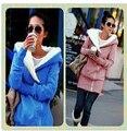 Корея Женщины Толстовки Пальто Теплый Застегивать Верхняя Одежда Кофты Леди Повседневные Куртки Пальто Верхняя Толстовка Solid