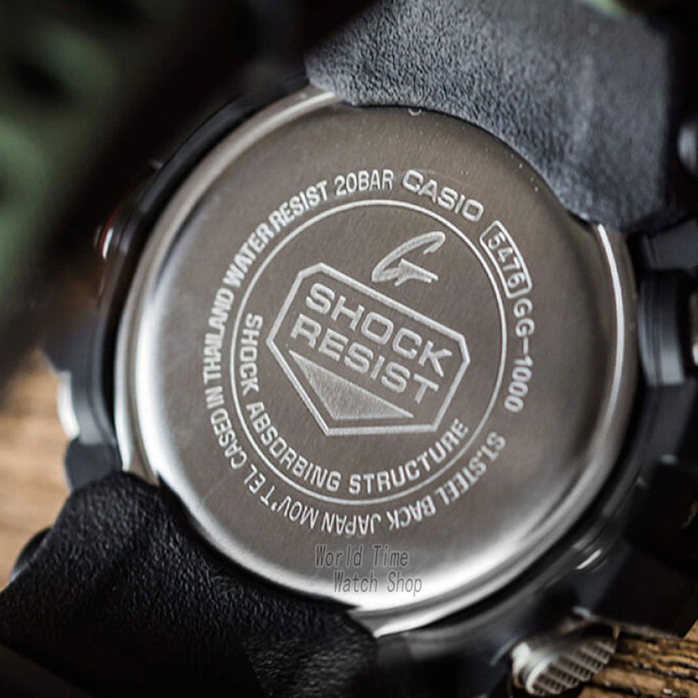 ec50d6dd467d1 Reloj Casio G SHOCK de los hombres de cuarzo reloj deportivo rey del lodo  triple de la energía solar de la onda de Radio g shock reloj GG 1000 en  Relojes ...