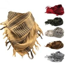 Bufanda para ciclismo, bufandas para exteriores, cubierta cálida para el cuello, bufanda militar de caza Keffiyeh, chal Shemagh, envoltura para la cabeza, accesorios de senderismo