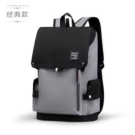 Casual backpack men's backpack fashion trend youth men's bag large capacity computer bag tide 2