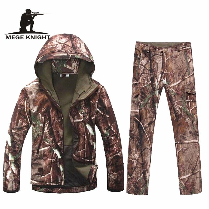 Uniforme militaire tactique de camouflage d'ouatine thermique d'hiver multicam, uniforme militaire d'équipement de paintball d'airsoft