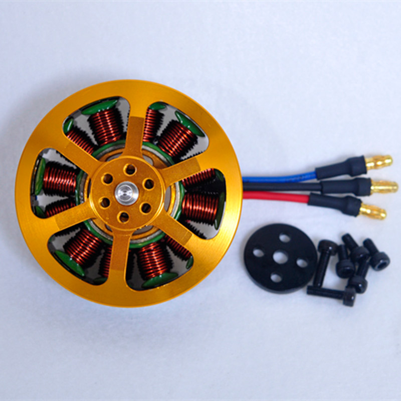 Image 2 - 1/4/6/8 Pcs Brushless Motor 5010 KV340 KV280 for Agriculture Drone Multi copter Brushless Outrunner Motor-in Parts & Accessories from Toys & Hobbies
