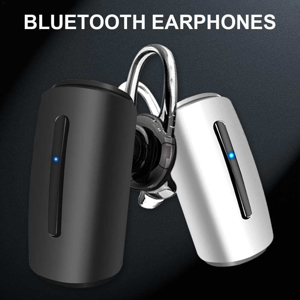 5.0 Stereo Earbuds Standby King Single Ear Wireless Bluetooth Waterproof Earphone Car Business Wireless Earphone Gaming Earphone-in Bluetooth Earphones & Headphones from Consumer Electronics