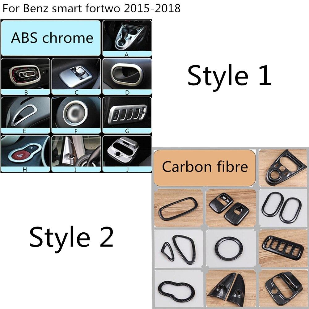 Здесь можно купить  Switch bowl vent outlet air condition armrest lift glass read steering wheel Interior For Benz smart fortwo 2015 2016 2017 2018  Автомобили и Мотоциклы