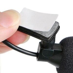 Image 5 - רכב אודיו מיקרופון 3.5mm קליפ שקע תקע מיקרופון סטריאו מיני Wired מיקרופון חיצוני עבור אוטומטי DVD רדיו 3m ארוך אנשי מקצוע