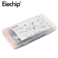 electrolytic capacitor Electrolytic Capacitor Ceramic kit Resistor led diodes set transistor Package diy assortment electronic components kits with box (2)