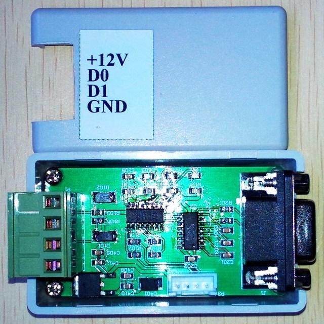 Conversor/WG26/34 232/Wiegand serial/COM porta/Bidirecional de transmissão de Wigan (16 hex)