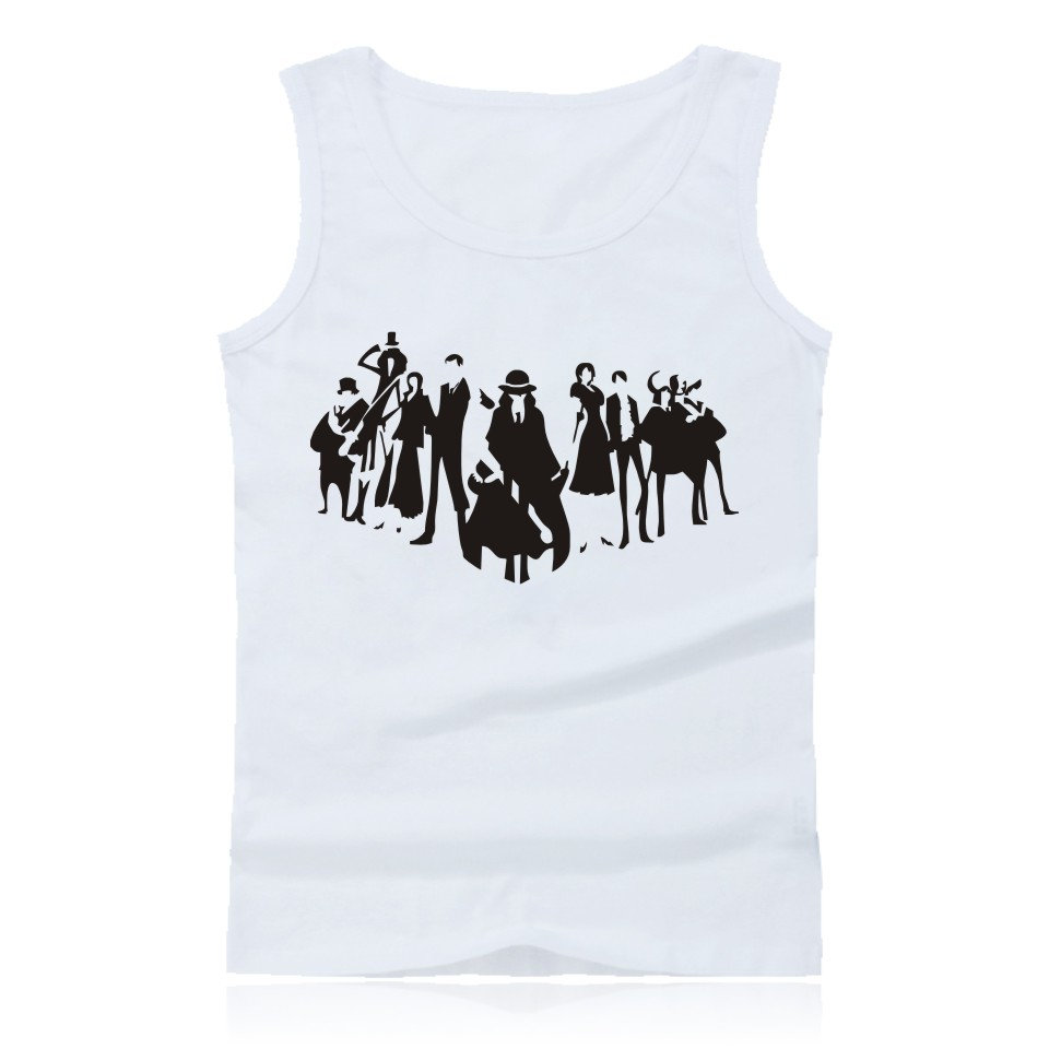 Anime One Piece Luffy And Ace Tank Top Summer Clothes Sexy Tank Tops Men Plus Size Sleeveless Shirts And O Neck Summer Vest