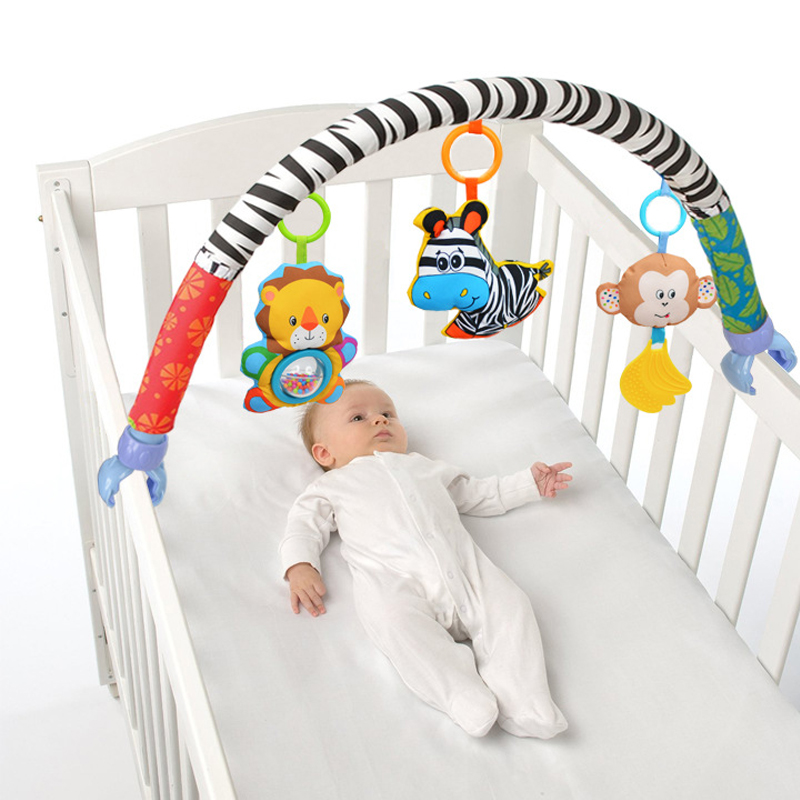 Carton Animals Baby Bed Bumper In The Crib Cot Stroller