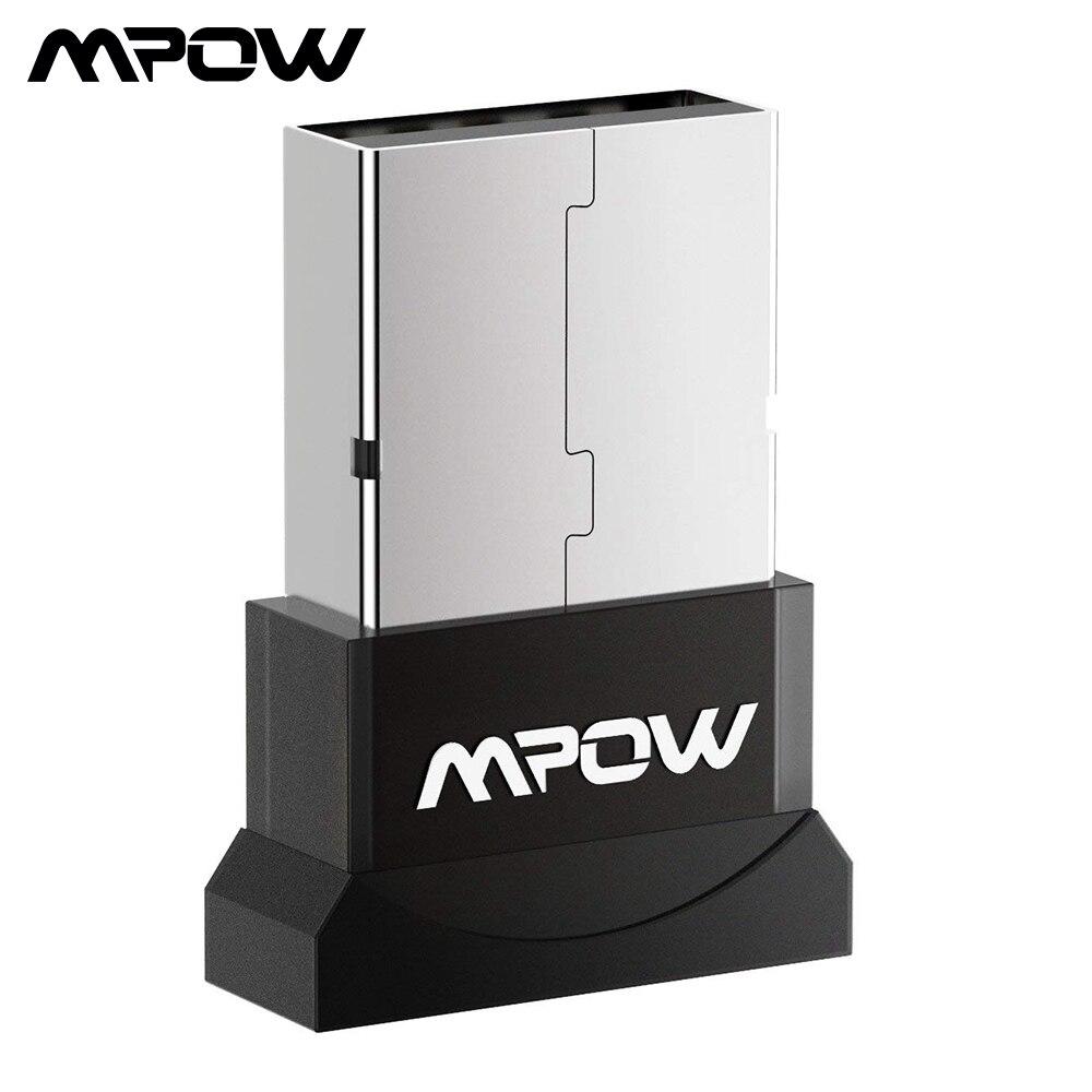 Mpow bh079a adaptador bluetooth usb para computador sem fio fone de ouvido bluetooth alto-falante bluetooth 4.0 usb bluetooth adaptador/receptor