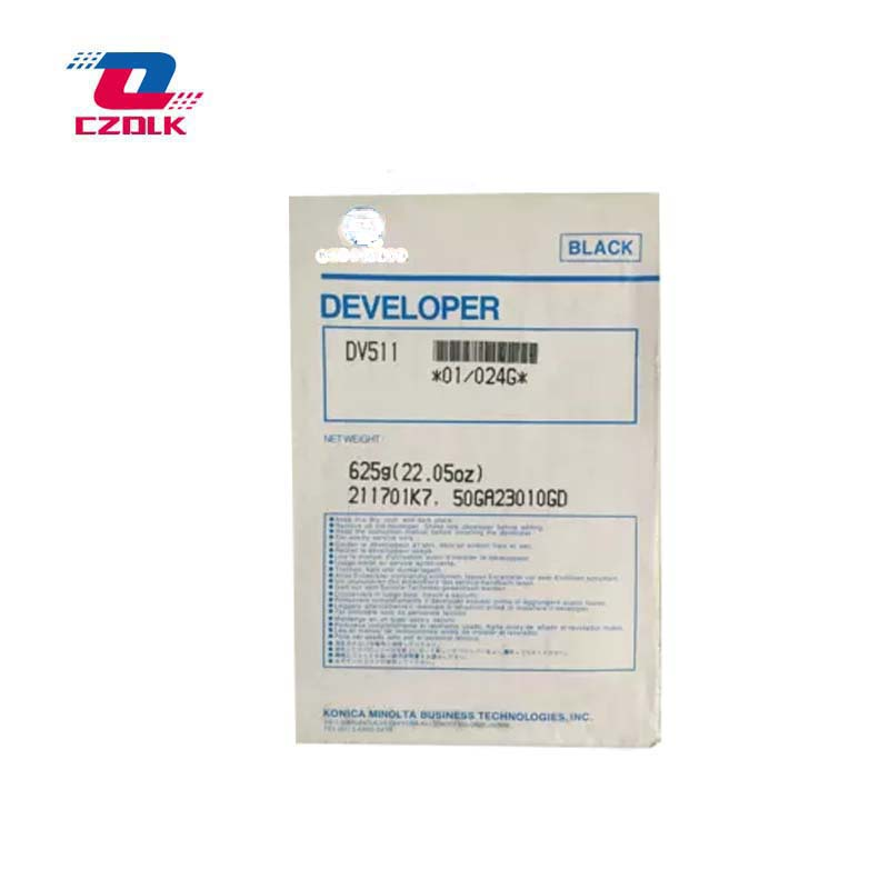 New compatible Dv511 Developer for Konica Minolta bizhub 420 500 421 501 360 361 625g/bag Developer-in Toner Powder from Computer & Office    2