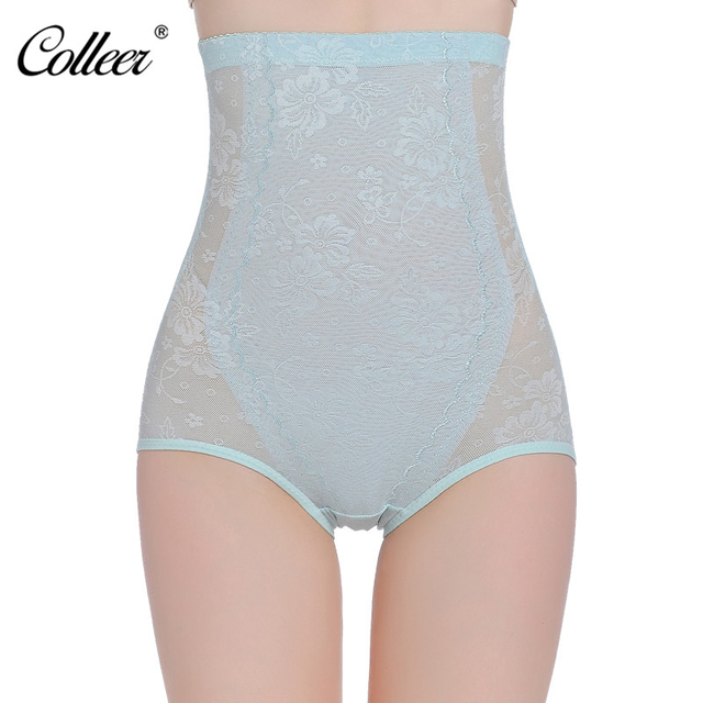 ceccf13c32dc5 COLLEER Women High Waist Body Shaper Panties seamless tummy Belly Control  Waist Slimming Pants Shapewear Girdle Underwear L-3XL