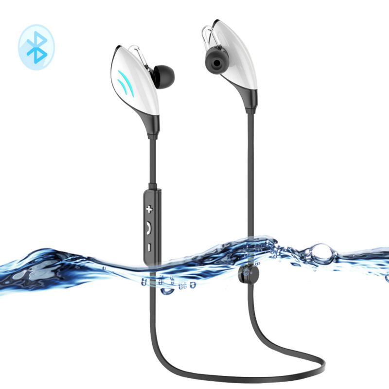 New Wireless Bluetooth  4.0 Headphone IPX7 Waterproof Stereo Sport Running fone de ouvido Earbuds With Mic For iPhone Android hifi mini wireless bluetooth earphone sport headphone stereo bass music headset with mic fone de ouvido earbud for iphone 7 7s