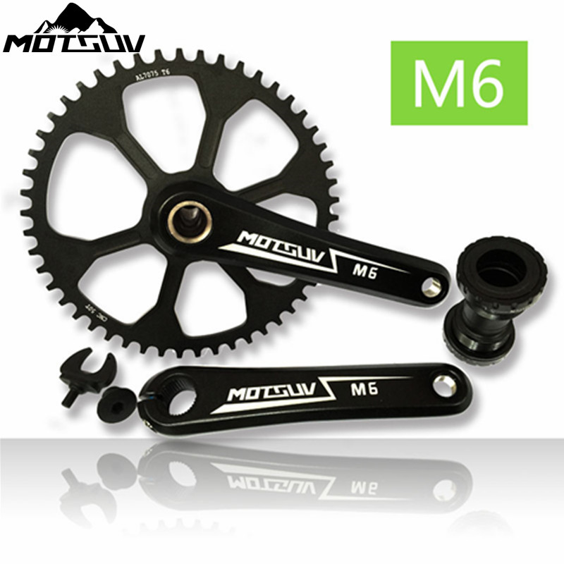 Road Bicycle Suit Sets Crankset crank Chainwheel Narrow Wide 42T 44T 46T 48T 50T Hollow integrated