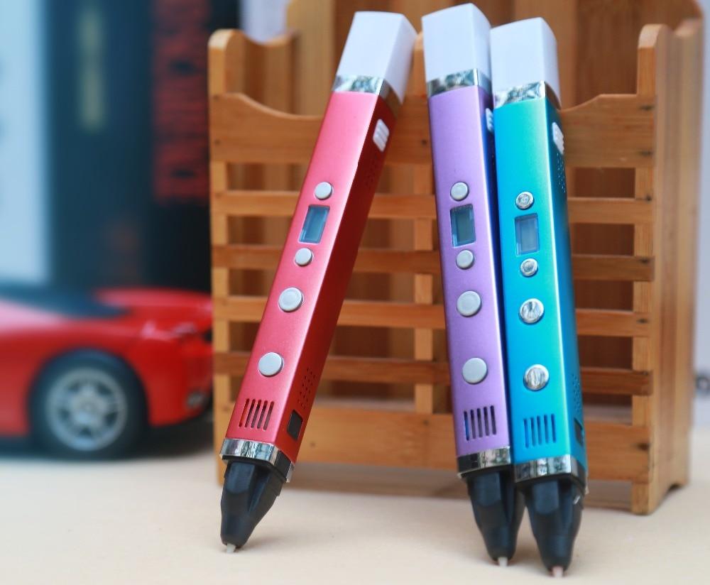 myriwell 3d pen 3d pennen, LED display, USB Opladen 3d model Smart 3d - Office-elektronica