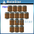 15 pcs Filtro De Óleo Para Yamaha YZ250F YZ400F YZ426F TTR250 YFM 350 WR426F WT400F Bicicleta Da Sujeira Motocicleta Motocross Do Motor