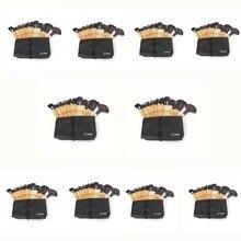 Вандер 10 компл./лот 32 шт. оптовая продажа Макияж Кисточки набор профессиональных косметических Наборы Расчёски для волос Основа для макияжа лица Косметическая пудра Румяна Pincel Maquiagem