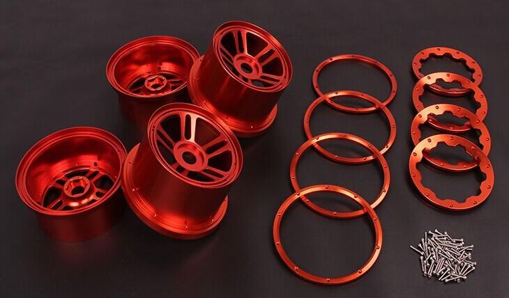 5B CNC Metal Wheel Set TS-H85129 for baja parts 2
