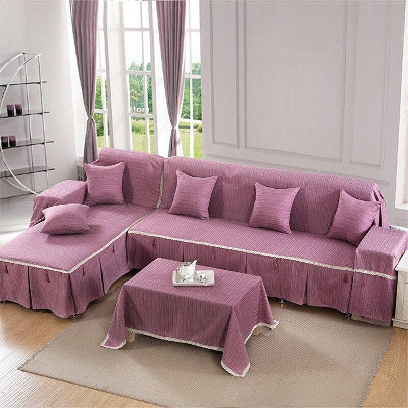 Brand Sofa Corner Towel Pads L Shaped Corner Sofa Covers ...