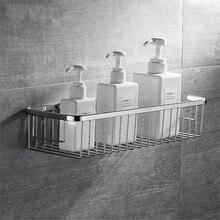 304 нержавеющая сталь Душ Caddy корзина настенное крепление полки для хранения для ванной для шампуня Конфеты кондиционер мыло etagere Фреска