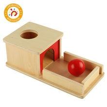 Монтессори Детские Обучающие пособия деревянный предмет постоянная