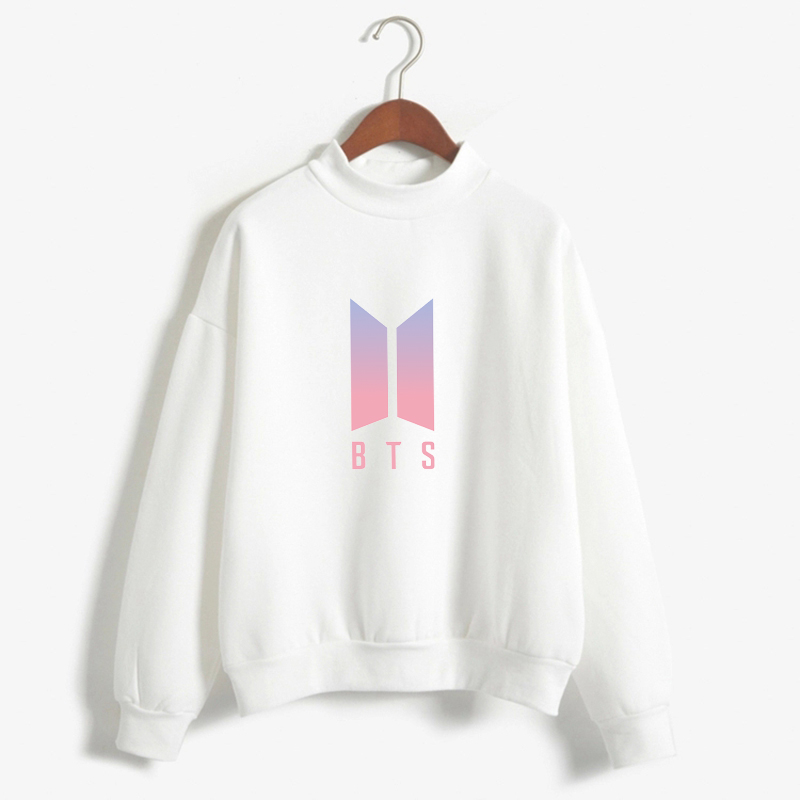Women Bts Hoodies Bangtan Boys Love Yourself Album Print Sweatshirt Women Pullovers Kpop Korean Style Casual Sudadera Mujer