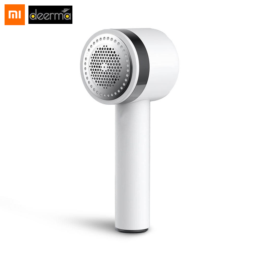 Original Xiaomi Deerma Clothes Sticky Hair Multi-function Trimmer USB Charging Fast Removal Ball Concealed Sticky Hair Tube