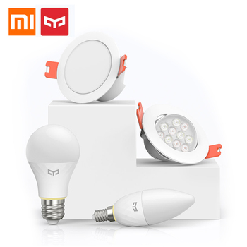 Xiaomi Mijia Yeelight Bluetooth شبكة شمعة لمبة E14 الذكية النازل الأضواء الأضواء العمل مع Yeelight المحور التحكم في التطبيقات